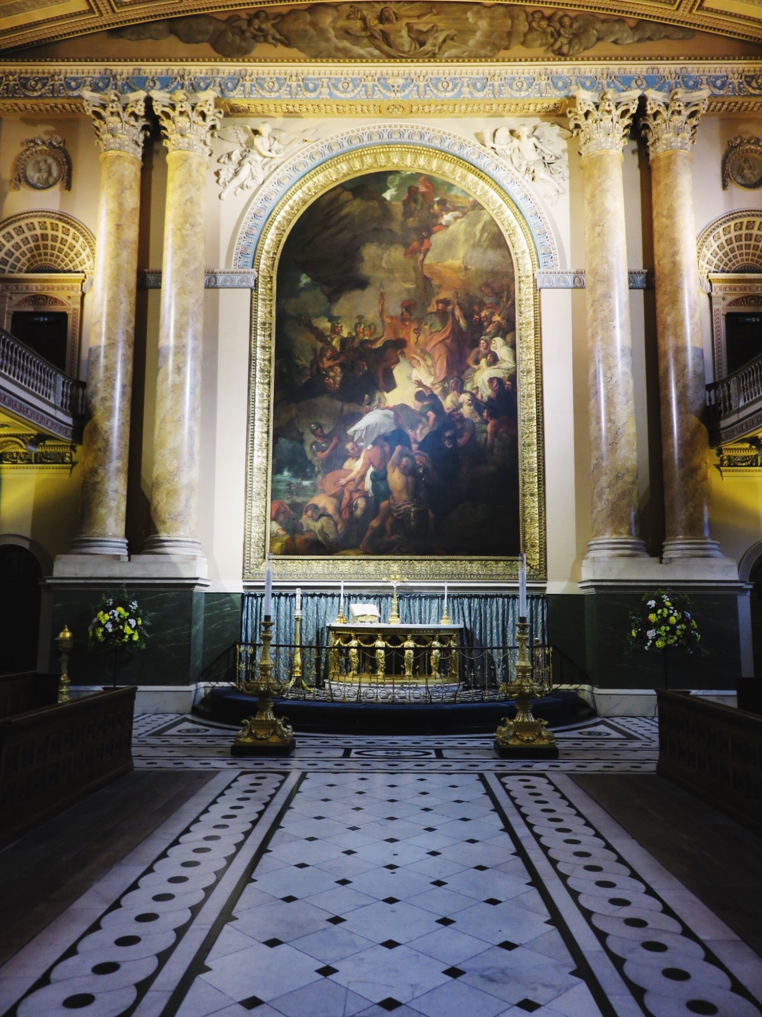 The Chapel at the Old Naval College